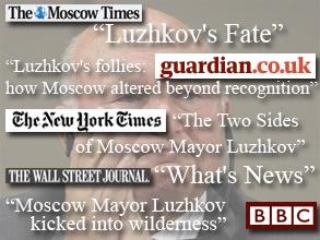 От Лужкова избавились жестко, но неуклюже, считают зарубежные СМИ. Фото: АР, коллаж: BFM.ru