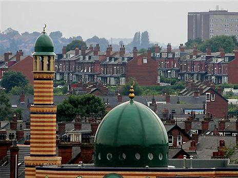 Мечеть в британском Лидсе. Фото: AP