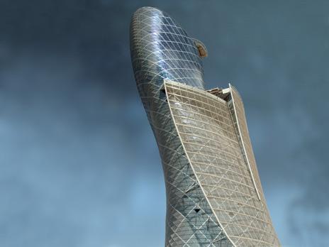 Отель Hyatt открылся в «падающем» небоскребе в Абу-Даби