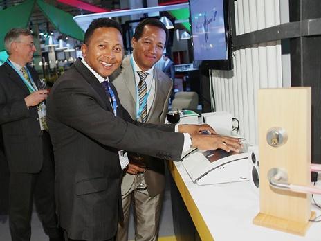 Премьера Connected Me состоялась на выставке потребительской электроники CES в Лас-Вегасе. Фото предоставлено пресс-службой компании Ericsson