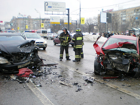 Собянин обманывает людей про смертность на дорогах  Москвы