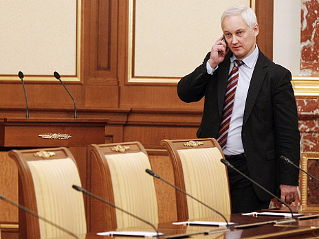 Министр экономического развития РФ Андрей Белоусов. Фото: РИА Новости
