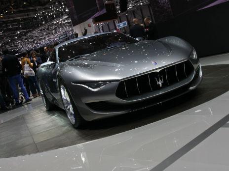 Maserati Alfieri. Фото: Алексей Аксенов/BFM