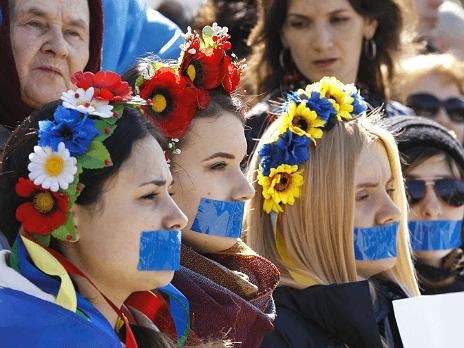 Женские споособы противодействия войне - украинские лисистраты, патриотки и борцы за мир
